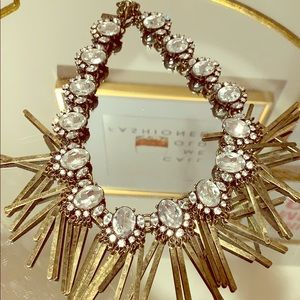 BaubleBar Fringe Statement Necklace